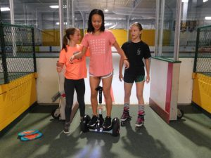 Gardens Figure Skating Club Lock-In 2018 Roller Fun