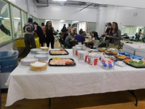 Gardens Figure Skating Club Lock-In 2018 Dinner 2